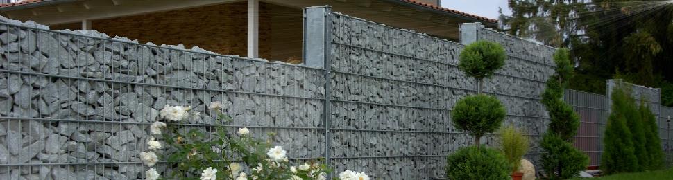 Steinmauer: Rembart - Holz im Garten
