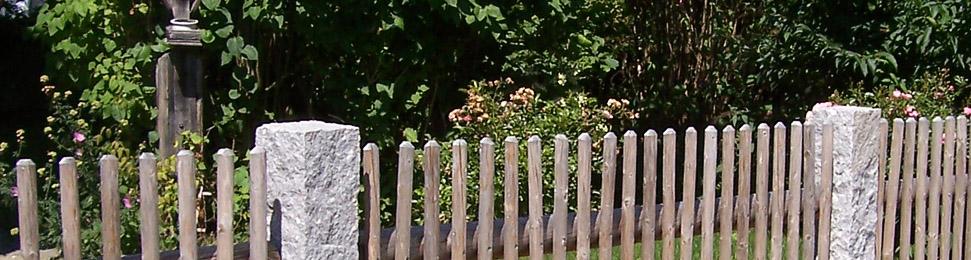 ländliche zäune: rembart - holz im garten,