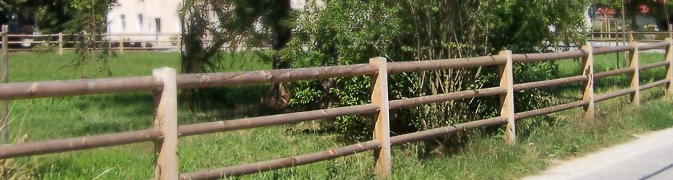 Holzgelander Koppelzaun Rembart Holz Im Garten