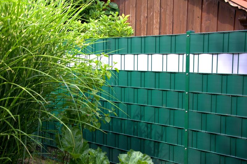 Sichtschutzstreifen Rembart Holz Im Garten